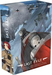 Last Exile DVD